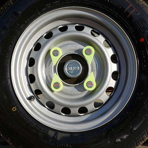 Wheel Nut Markers